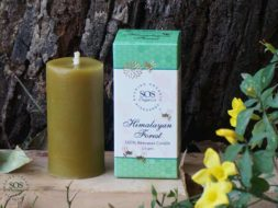 Himalayan Forest 100% Beeswax Candle