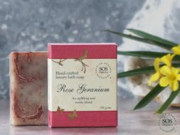 Rose Geranium Luxury Bath Soap