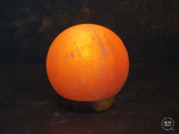 Globe Himalayan Crystal Salt Lamp