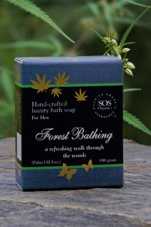 Hemp soap for Men-Forest Bathing