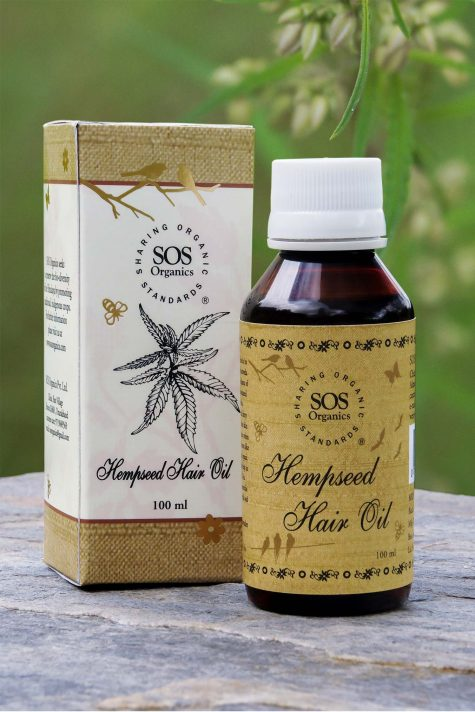 Hempseed Hair Oil