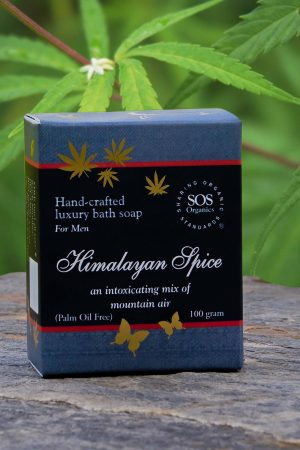 Hemp soap for Men-Himalayan Spice
