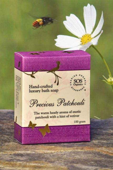 Precious Patchouli Luxury Bath Soap