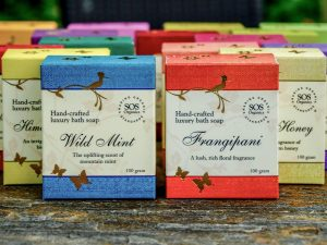 Hand-crafted Luxury Bath Soaps