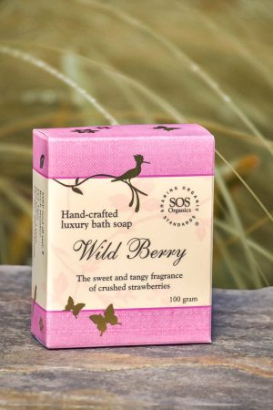 Wild Berry Luxury Bath Soap