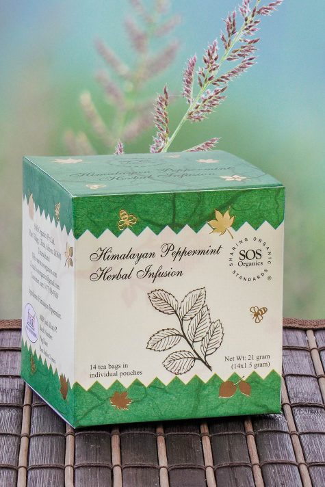 Himalayan Pepper Mint Herbal Infusion