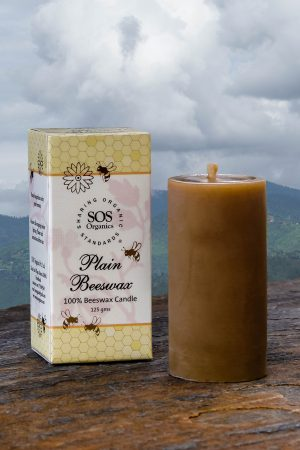 Plain 100% Beeswax Candle