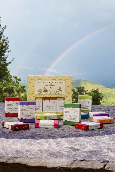 Luxury Hand-crafted Bath Soaps from Kumaon